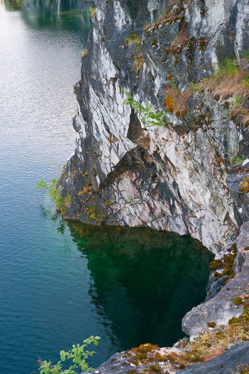 Ruskeala Marble Canyon, Karelia